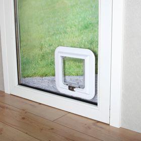 Дверь для животных для стекла Trixie 3880