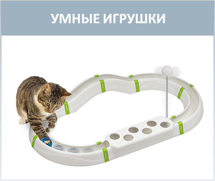 Интерактивные игрушки для кошек