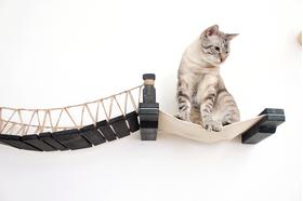 Игровой настенный комплек для кошек Лаундж ModernCat правая часть