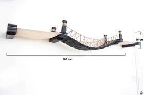 Игровой настенный комплек для кошек Лаундж ModernCat размеры