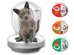 Система приучения кошек к унитазу Litter Kwitter