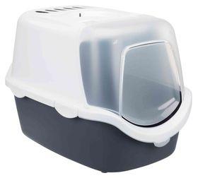 Туалет домик для кошек Vico Easy Clean 40 × 40 × 56 см темно-серый 40341