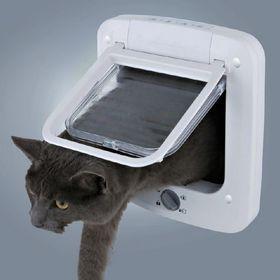 Уличная дверь для кошек Trixie 3850 для дверей до 41 мм