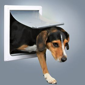 Дверца для средних пород собак S-M Trixie 3878