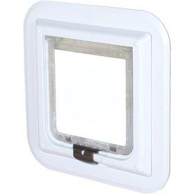 Дверца для кошек для пластика и стекла толщиной до 13 мм Trixie 3880