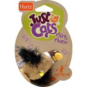 Летающая чирикающая птичка - игрушка для кошки Hartz Chrip&Chase 11591