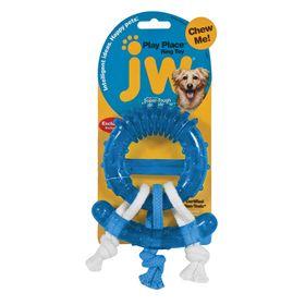 Игрушка для собак - жевательное кольцо с канатами