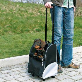 Рюкзак переноска на колесиках Trixie 2880