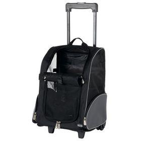 Рюкзак переноска для кошек и собак на колесиках Trixie 2880
