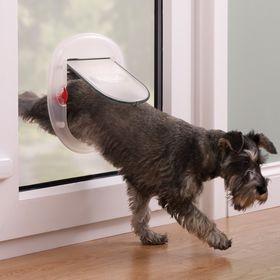 Дверца Staywell Big Cat Small Dog для стекла и тонкого пластика матовая установленная