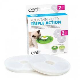 Сменный фильтр Catit для питьевых фонтанчиков 3л для смягчения воды (2шт)