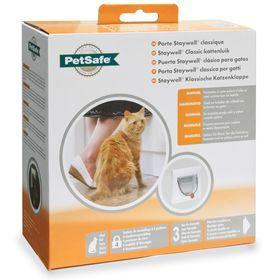 Дверца для кошек Petsafe Staywell Classic 4-х позиционная с тоннелем в упаковке