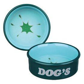 Миска керамическая для собак Trixie 24488 зеленая