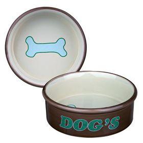 Миска керамическая для собак Trixie 24487 бежевая