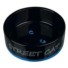 Миска керамическая Street Cat Trixie 24659 синяя