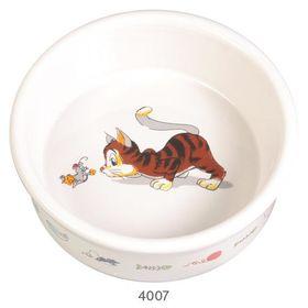 Миска керамическая для кошкиTrixie 4007