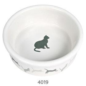 Миска для кошки керамическая Trixie 4019 белая