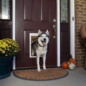 Усатновленная утепленная дверь для собаки PetSafe Extreme Weather
