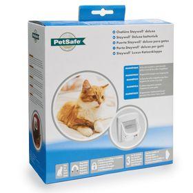 Дверца для кошек с магнитным замком Petsafe Staywell Deluxe в упаковке