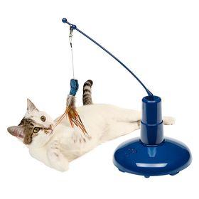 Автоматическая удочка дразнилка игрушка для кошки Ferplast Raptor