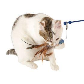 Электронная удочка дразнилка игрушка для кошки Ferplast Raptor