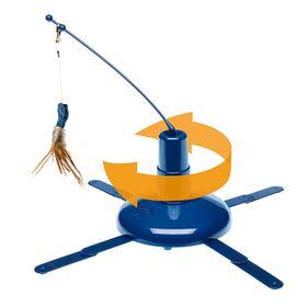 Автоматическая дразнилка игрушка для кошки Ferplast Raptor в собранном виде