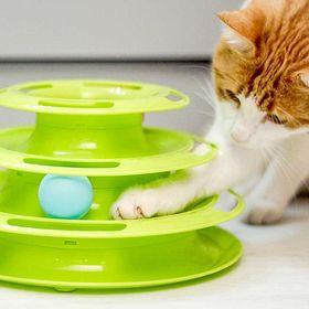 Игрушка для кошек с шариком  Ferplast Twister