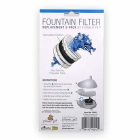 Сменные угольные фильтры для керамической поилки Pioneer Pet Raindrop инструкция по замене