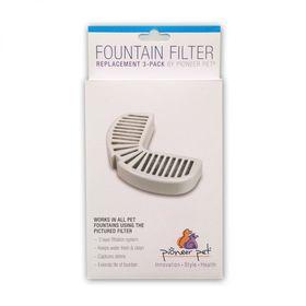 Сменные угольные фильтры для керамической поилки Pioneer Pet Raindrop упаковка
