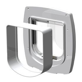 Дополнительный тоннель для дверок Ferplast Swing установка