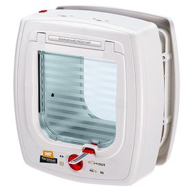 Дверца для кошек Ferplast Swing MicroChip белая