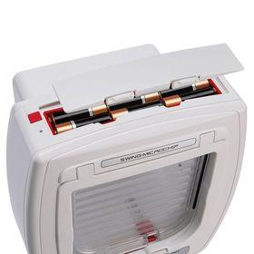 Дверца для кошек Ferplast Swing MicroChip отсек для батареек