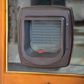 Дверца для кошек Ferplast Swing MicroChip с электронным замком