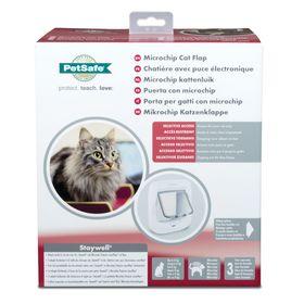 Дверца для кошек с определителем микрочипов PetSafe Microchip Cat Flap упаковка