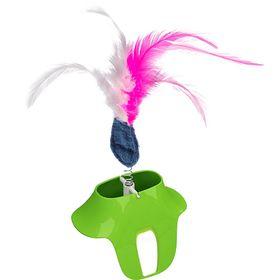 Игрушка с перьями для треков Ferplast Clever & Happy