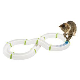 Игрушка трек с мячиком в форме восьмерки для кошек Ferplast Typhone