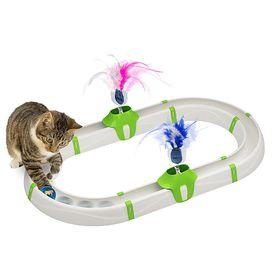 Игрушка для кошки Трек с мячиком Ferplast Turbine