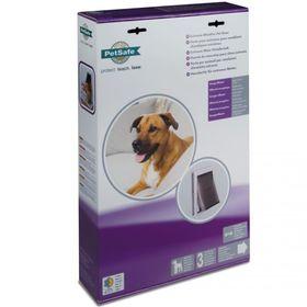 Утепленная дверь для собак PetSafe Extreme Weather размер M в упаковке