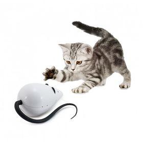 Интерактивная мышка дразнилка для кошки FroliCat RoloRat