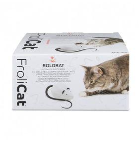 Автоматическая мышка дразнилка для кошки FroliCat RoloRat в упаковке