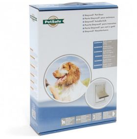Алюминиевая дверь для собак Staywell Medium 620 ML для собак до 18 кг в упаковке