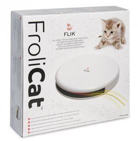 Автоматическая игрушка дразнилка для кошек FroliCat FLIK упаковка