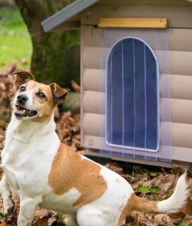 Силиконовая шторка для будки собаки Ferplast Domus