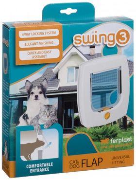 Дверца для кошки Ferplast Swing 3 Basic в упаковке