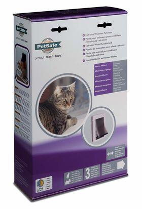 Утепленная дверь для кошек и собак PetSafe Extreme Weather размер S в упаковке