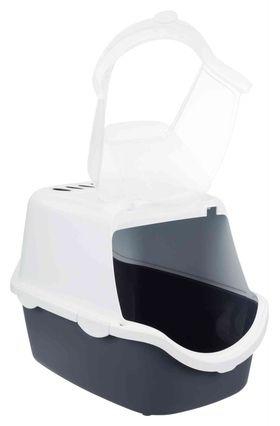 Туалет домик для кошек Vico Easy Clean 40 × 40 × 56 см серый