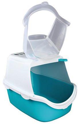 Туалет домик для кошек Vico Easy Clean бирюзовый